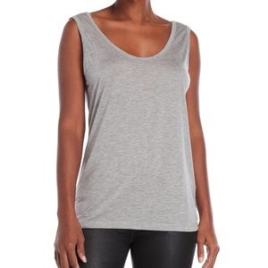 ‼️ 2/$20 ‼️ The Kooples Sport grey zip back tank